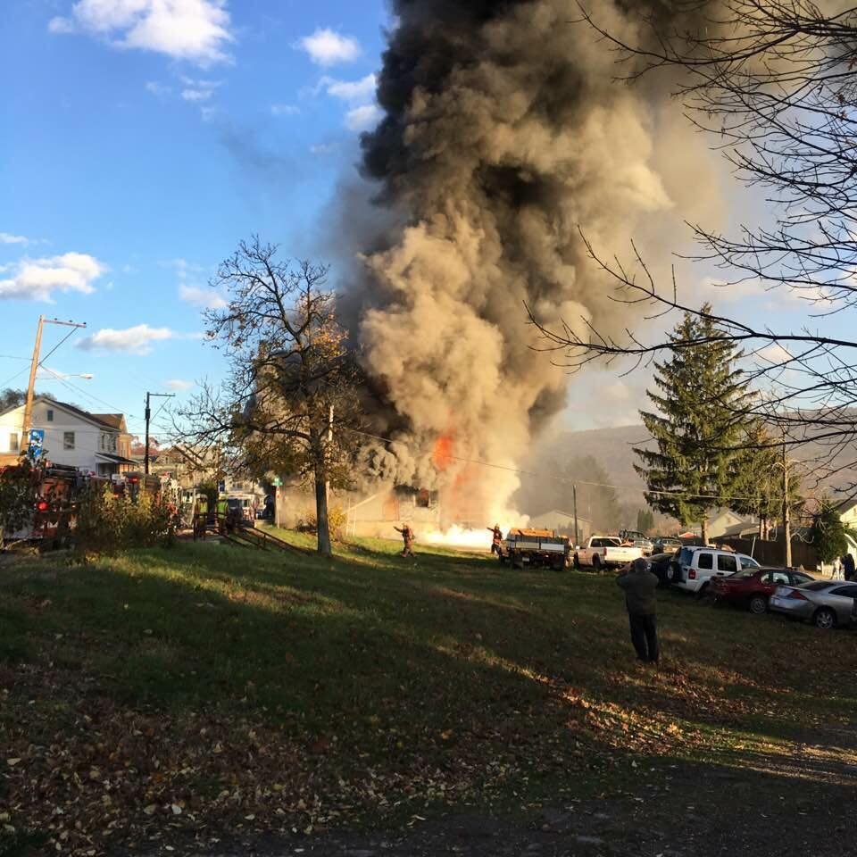 UPPER DAUPHIN COUNTY HOUSE FIRE