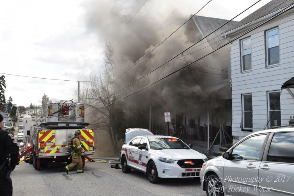 TOWER RUNS STEELTON FIRE